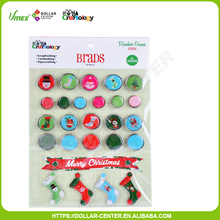 Hot Selling Good Use Paper Scrapbook craft Brads with High Quality