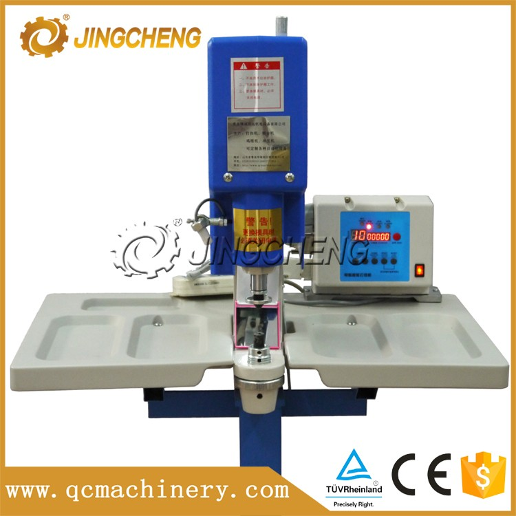 Semi-automatic snap button attaching machine QC-15011