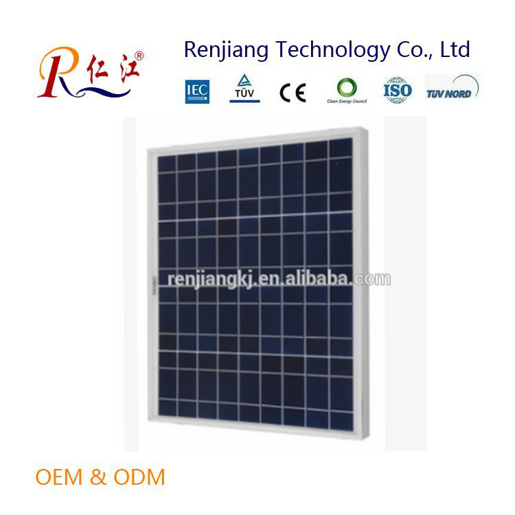 A-grade cell high efficiency 130W PV solar panel poly solar panel