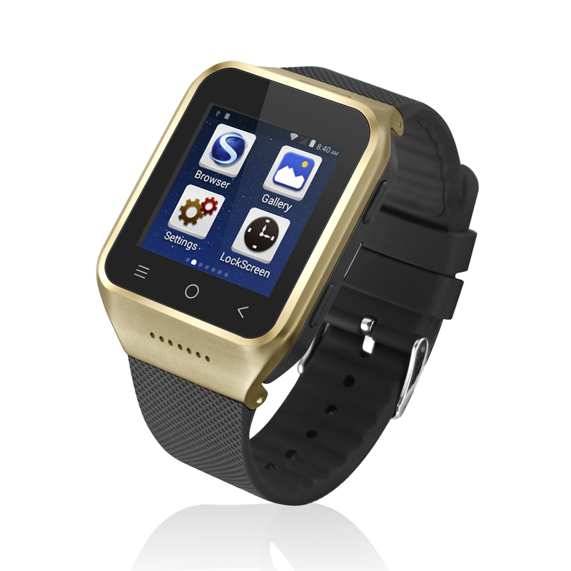 3G WCDMA 2100MHz 1.54 inch Smart phone Watch with android 4.4 OS watch mobile phone cell phone BB63