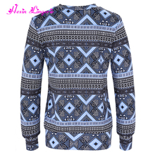 China manufacturer latest fashion blouse wholesale sweatshirt neck designs for ladies tops
