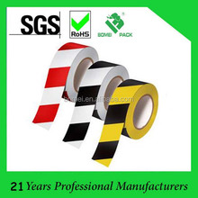 China supplier caution PVC Floor adhesive marking warning tape