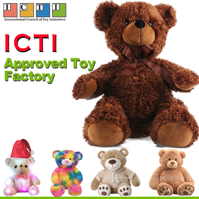 ICTI Approved Toy factory Wholesale Mini Cute Yellow Teddy Bear Stuffed Custom Small Clothes Teddy Bear Plush Toy With T Shirts