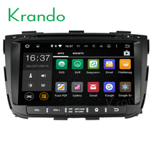 "Krando Android 6.0 8"" car multimedia player for kia sorento 2013-2014 DVD GPS navigation radio tv bluetooth system KD-KS834"