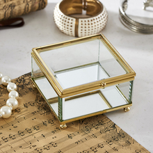 Customized glass Jewelry Box Available for Sale