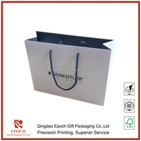 simple paper bag with cotton handle