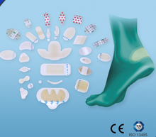Waterproof hydrocolloid dressing for wound care