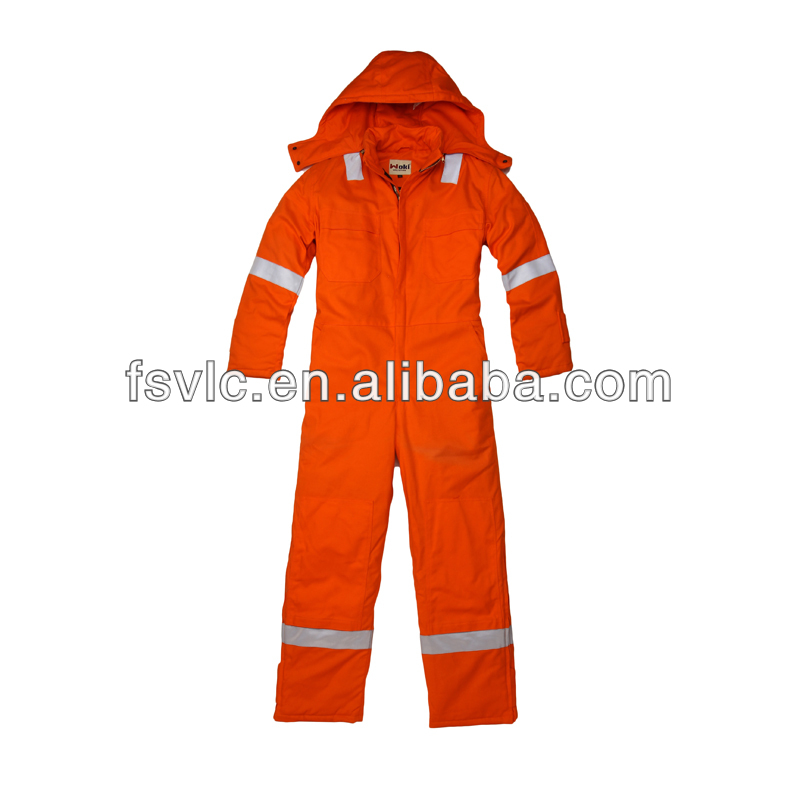 FR hooded nomex coverall