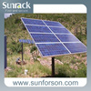 Solar energy normal specification pv pole mounting systems