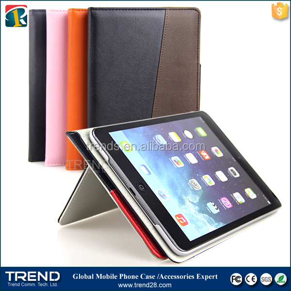 new products 2016 flip leather wallet case celular for ipad air