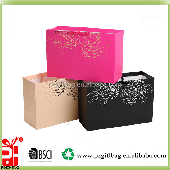 Cheap Custom paper bag,Different Industry use paper bag packaging,shopping paper bag