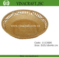 Snack bamboo basket for sale