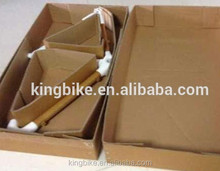 Super hardness bamboo road bike frame made in China