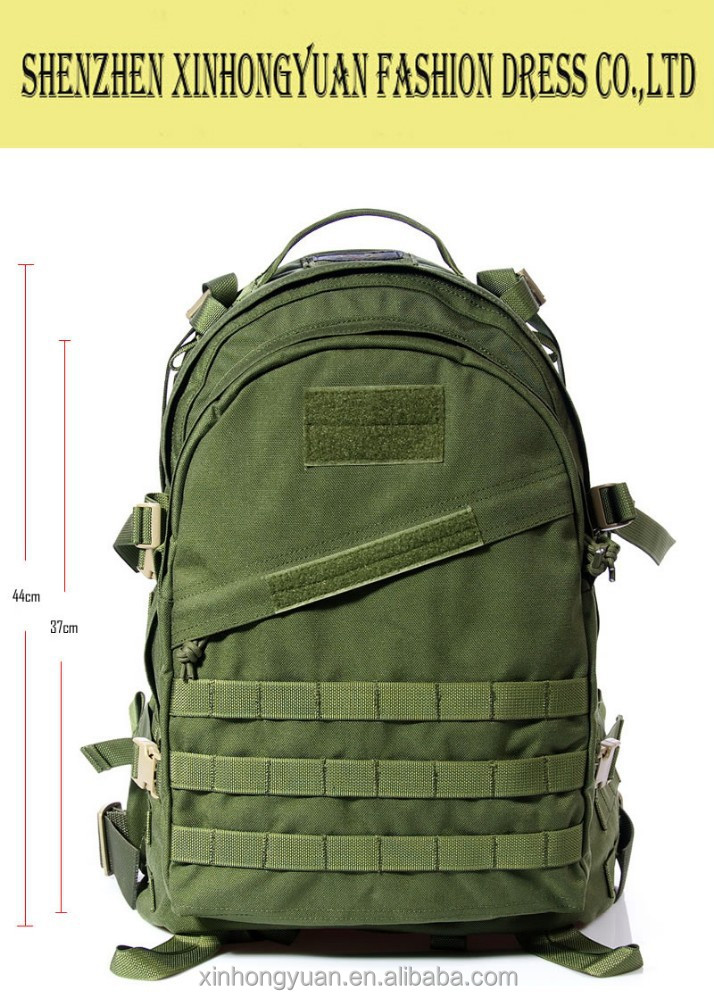 Oliver drab green mountaineering backpack with molle band and condura material