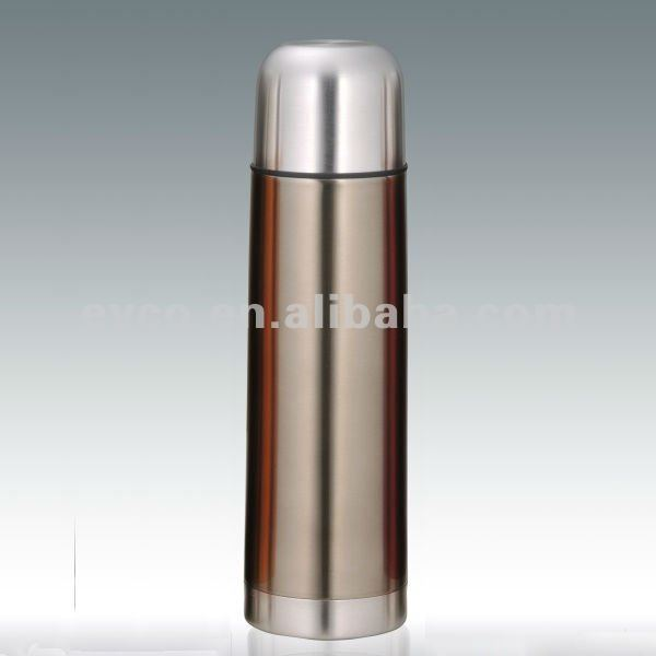 18 oz Stainless Steel Vacuum Flask - Smoke