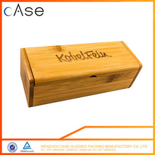 Customized made widely use Good reputation High quality hard shell wood glasses case