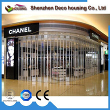 Vertical rolling type transparent polycarbonate roller shutter price