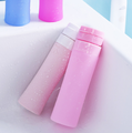Liquid travel bottles cosmetic bottles silicone travel toiletry bottles