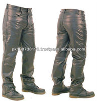 Classic Leather Motorcycle Pant