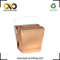 Disposable custom paper lunch box, noodle box, meal box