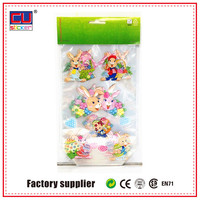 Recycling PP plastic easter rabbit gift bag