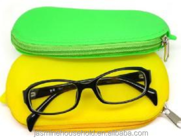 BPA free Eco-friendly Multi-functional Silicone eyeglass cases