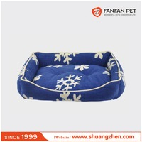 Soft Cotton Dog bed Winter Warm Pet Kennel product snowflakes Bed