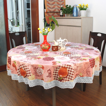 PVC round table cloth wedding party decoration