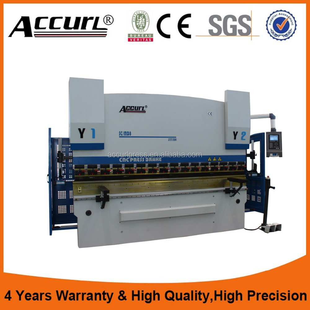 cnc hydraulic High Quality Press Brake & sheet metal bending machine,cnc electric press brake