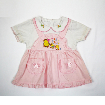 Baby clothes girl dress children dresses cotton frocks one piece baby girl dresses