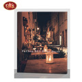 Beautiful Night Scene  Light Up Wooden Canvas Printing  For Wall Decoration