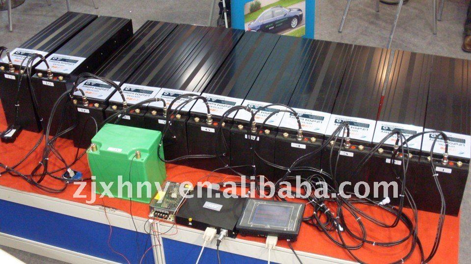 Headway lifepo4 lithium electric car battery pack 50Ah 660V