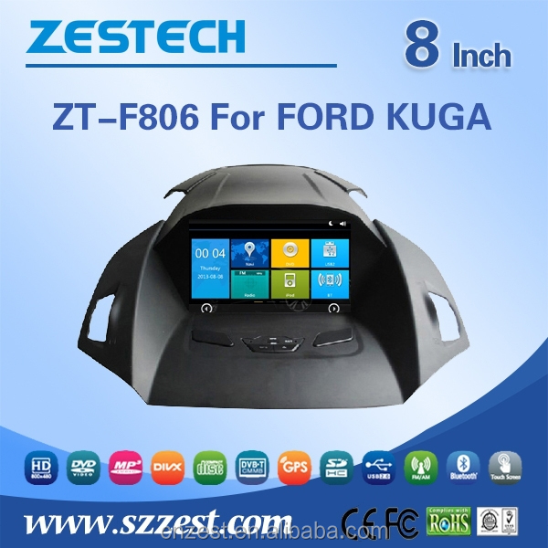 MOST PROFESSIONAL car dvd player for Ford KUGA dvd with dvd gps navigation