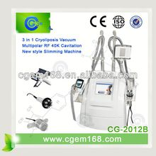 the newest Cryolipolysis Freeze & Cavitation Cellulite+body slimming vacuum cryo fat freezing machine with CE