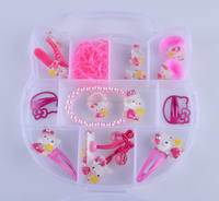 Pink Color Hello Kitty Hair Bands Hair Accessories