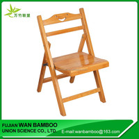 Wholesale Durable Bamboo Folding Chair for Elderly Use