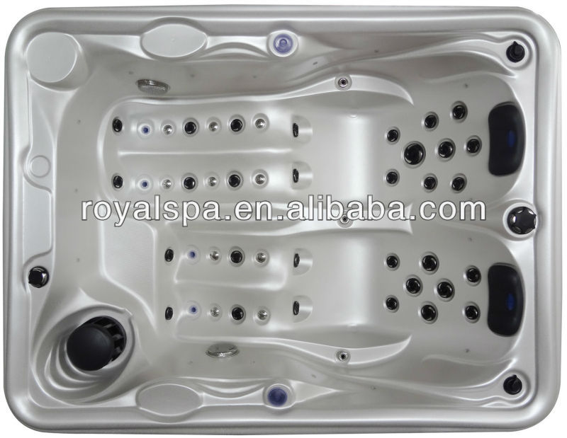 sex mini acrylic whirlpool double hot tubs with LED/pillows