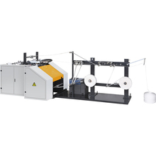 GK-188 High speed OEM design long life paper bag handle making machine
