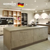 German Pool Commercial Combinations Painting Shape Solid Surface PVC Membrane UV for Exhibition waterproof kitchen cabinets