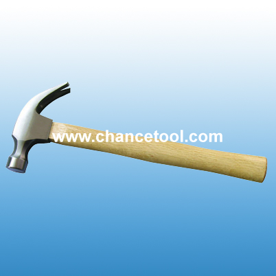 American type claw hammer with wooden handle ST002