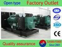 Open type 460kw efficiency diesel generator