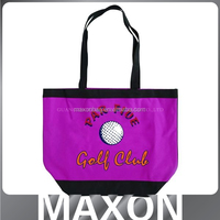New Arrival long handle portable oxford cloth shopping bag made in China