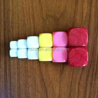 12-30mm round blank dice/Different sizes & color blank dice/16# office romance interest teaching/