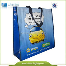 120 Gsm Shopping Tote Customized Non Woven Bag PP Non Woven Bag Custom Cheap Non Woven Bag