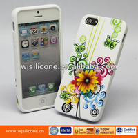 Fashion Printing Soft TPU Cover for Iphone 5 s OEM Factory