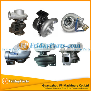 FP Parts Exvacator Spare Parts Turbocharger for Different Diesel Engine Assy