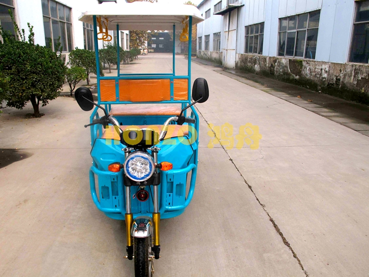 2016 new electric rickshaw for passenger battery operated tricycle for India market