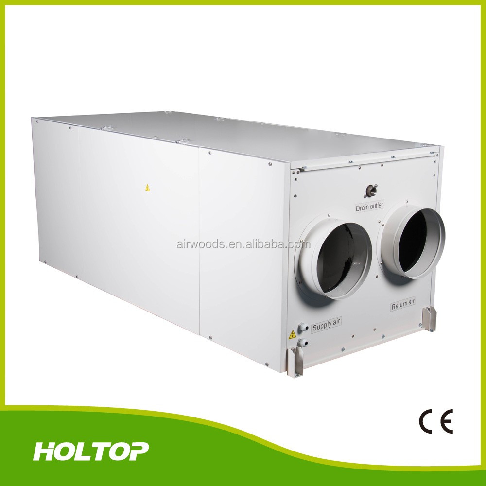 Ventilation air all in one heat pump with energy recovery ,fresh air heating and cooling