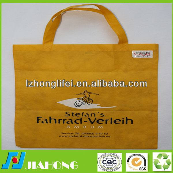 recyclable promotion foldable nonwoven bag