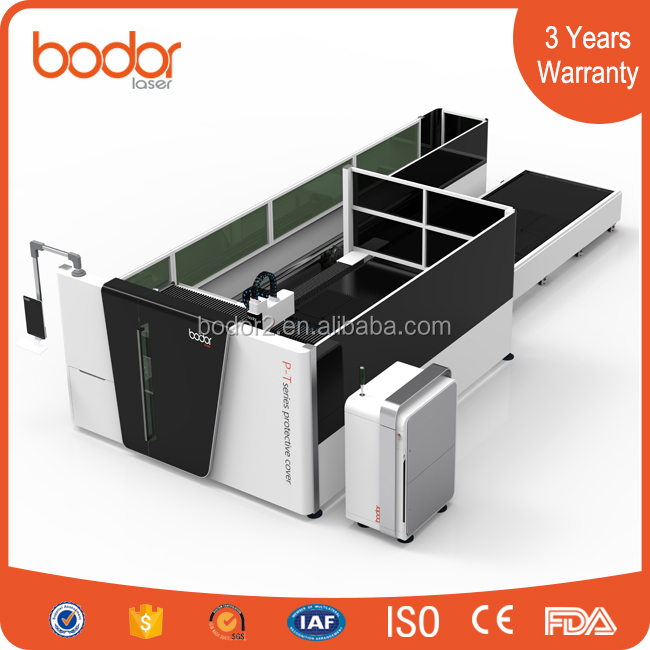Chine&Europe fiber laser iron sheet cutting machine with free overseas service&3years warranty